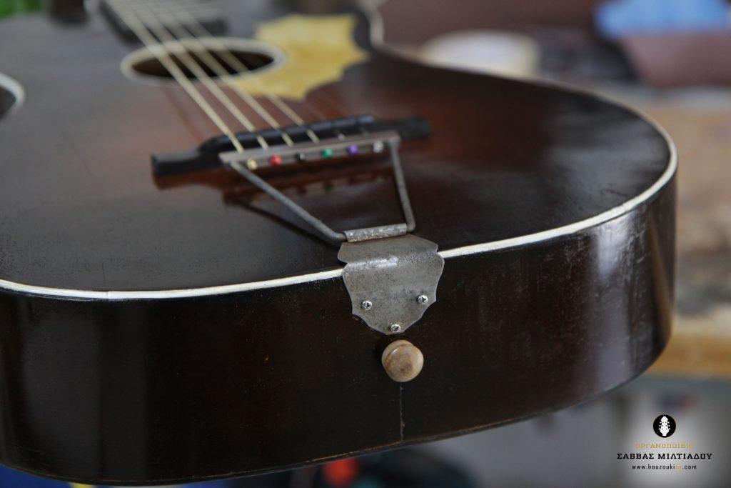 Επισκευή ακουστικής κιθάρας - Old Acoustic Guitar Restored - Repair - Οργανοποιείο Σ. Μιλτιάδου - BouzoukiCy - Cyprus - Κύπρος (26)