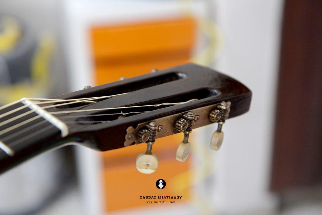 Επισκευή ακουστικής κιθάρας - Old Acoustic Guitar Restored - Repair - Οργανοποιείο Σ. Μιλτιάδου - BouzoukiCy - Cyprus - Κύπρος (28)