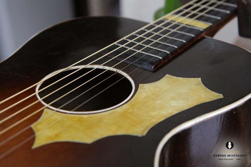 Επισκευή ακουστικής κιθάρας - Old Acoustic Guitar Restored - Repair - Οργανοποιείο Σ. Μιλτιάδου - BouzoukiCy - Cyprus - Κύπρος (36)
