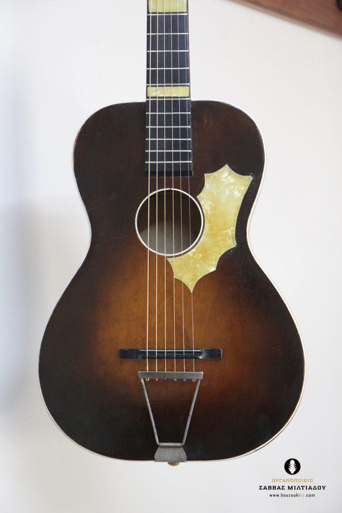 Επισκευή ακουστικής κιθάρας - Old Acoustic Guitar Restored - Repair - Οργανοποιείο Σ. Μιλτιάδου - BouzoukiCy - Cyprus - Κύπρος (42)