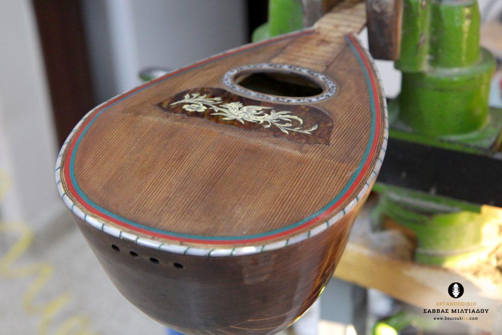 Fratelli Hasermann Mandolin Restored-Napoli 1901-Repair- Επισκευή ιταλικού μαντολίνου - Οργανοποιείο Σ. Μιλτιάδου - BouzoukiCy - Cyprus (19)