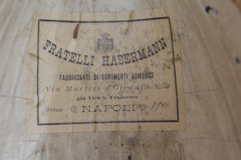Fratelli Hasermann Mandolin Restored-Napoli 1901-Repair- Επισκευή ιταλικού μαντολίνου - Οργανοποιείο Σ. Μιλτιάδου - BouzoukiCy - Cyprus (9)